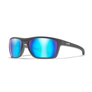 Slnečné okuliare Kingpin Wiley X® (Farba: Čierna, Šošovky: Modré polarizované)