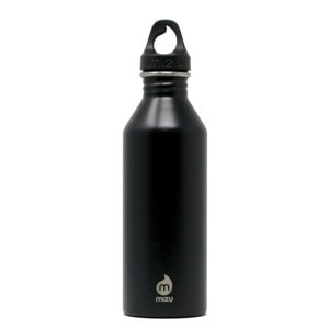 Nerezová fľaša M8 Mizu® 750 ml – Čierna (Farba: Čierna)